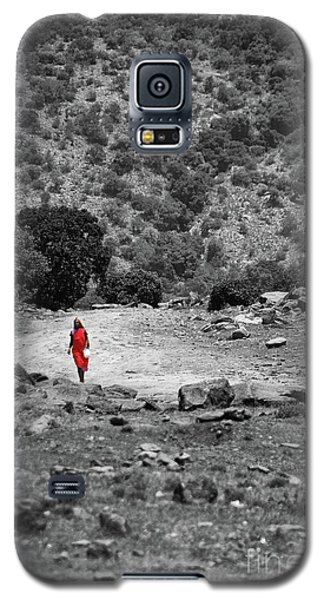 Galaxy S5 Case featuring the photograph Walk  by Charuhas Images