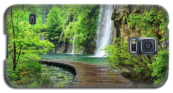 Walking Through Waterfalls - Plitvice Lakes National Park, Croatia Galaxy S5 Case