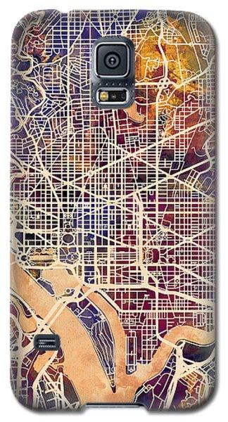 Washington Dc Street Map Galaxy S5 Case