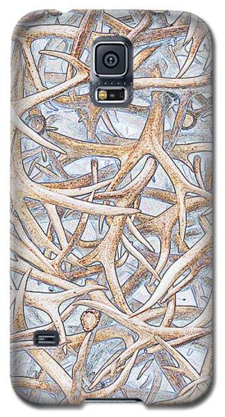 Weathered Elk Antlers Galaxy S5 Case