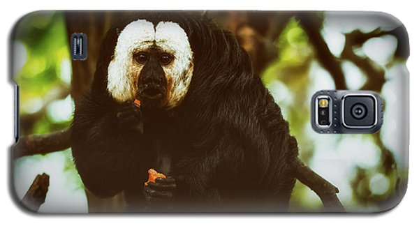 Galaxy S5 Case featuring the photograph White Saki by The 3 Cats