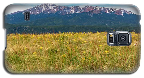 Wildflowers And Pikes Peak Galaxy S5 Case