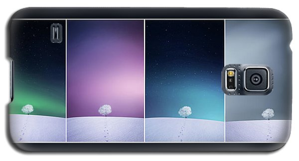 Galaxy S5 Case featuring the photograph Winter Tree by Bess Hamiti
