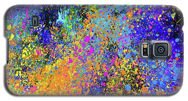Galaxy S5 Case featuring the painting Abstract Composition by Samiran Sarkar