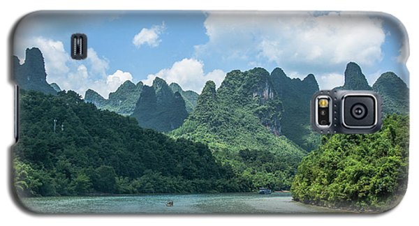 Lijiang River And Karst Mountains Scenery Galaxy S5 Case