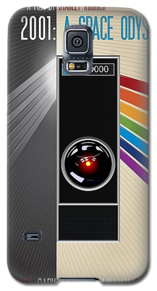 2001 A Space Odyssey Poster Print - No 9000 Computer Has Ever Made A Mistake Galaxy S5 Case