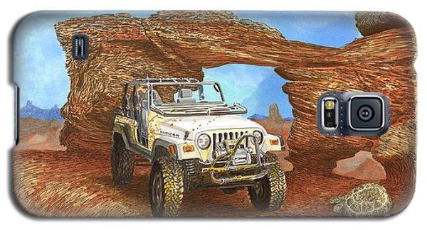 2005 Jeep Rubicon 4 Wheeler Galaxy S5 Case by Jack Pumphrey