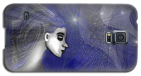 201 -   Traveling  Through   Veils Of Universe Galaxy S5 Case by Irmgard Schoendorf Welch