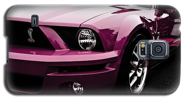 2010 Pink Ford Cobra Mustang Gt 500 Galaxy S5 Case