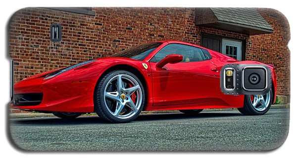 Galaxy S5 Case featuring the photograph 2012 Ferrari 458 Spider by Tim McCullough