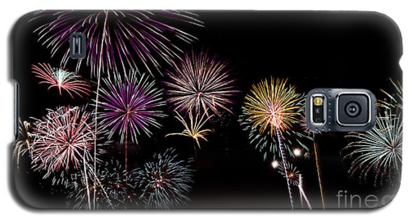 2013 Fireworks Over Alton Galaxy S5 Case by Andrea Silies