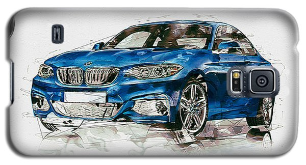 2014 B M W 2 Series Coupe With 3d Badge Galaxy S5 Case