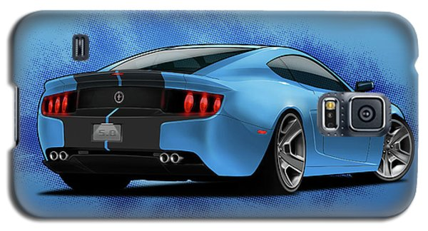 2014 Stang Rear Galaxy S5 Case