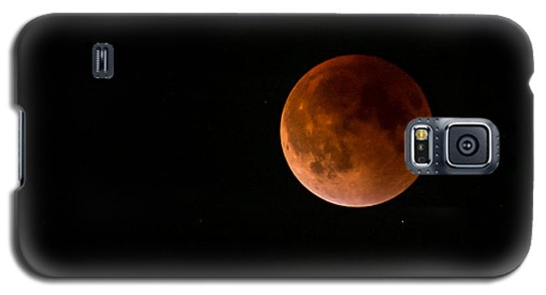 2015 Blood Harvest Supermoon Eclipse Galaxy S5 Case