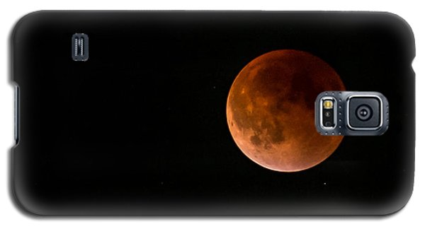 2015 Blood Harvest Supermoon Eclipse Galaxy S5 Case