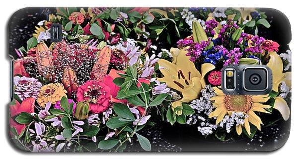 2015 Monona Farmers Market Flowers 1 Galaxy S5 Case