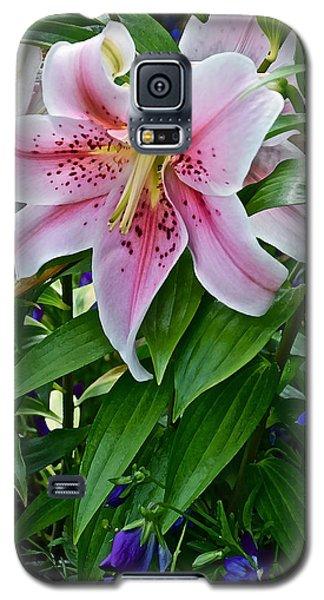 2015 Summer At The Garden Event Garden Lily 3 Galaxy S5 Case