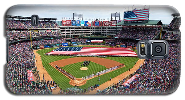 2015 Texas Rangers Home Opener Galaxy S5 Case