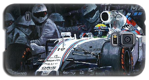 2015 Williams Fw37 F1 Pit Stop Spain Gp Massa  Galaxy S5 Case by Yuriy Shevchuk