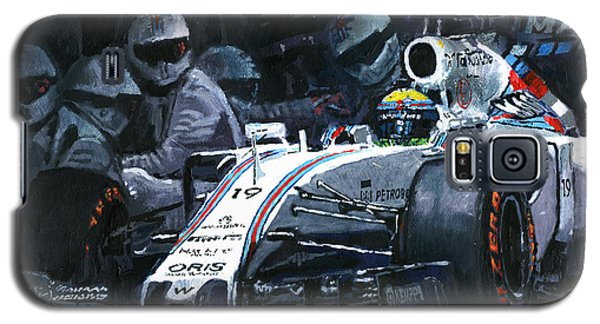 2015 Williams Fw37 F1 Pit Stop Spain Gp Massa  Galaxy S5 Case