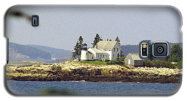 2015 Winter Harbor Light Galaxy S5 Case