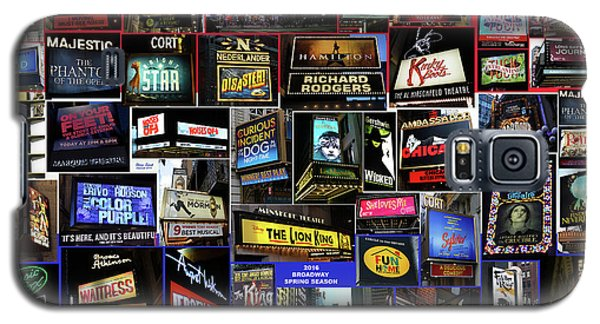 Galaxy S5 Case featuring the photograph 2016 Broadway Spring Collage by Steven Spak