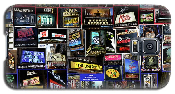 2016 Broadway Spring Collage Galaxy S5 Case by Steven Spak