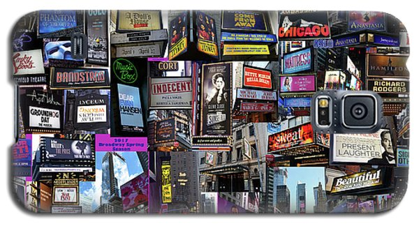 2017 Broadway Spring Collage Galaxy S5 Case