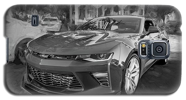 Galaxy S5 Case featuring the photograph 2017 Chevrolet Camaro Ss2 Bw by Rich Franco