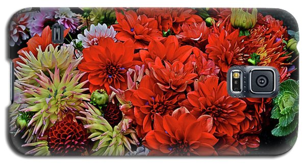 2017 Mid October Monona Farmers' Market Buckets Of Blossoms 1 Galaxy S5 Case