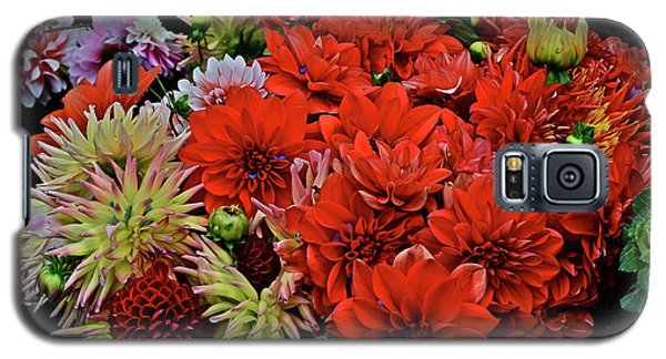 2017 Mid October Monona Farmers' Market Buckets Of Blossoms 1 Galaxy S5 Case