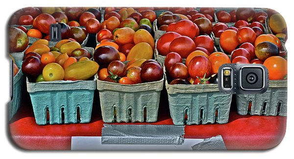 2017 Monona Farmers' Market August Heirloom Cherry Tomatoes Galaxy S5 Case