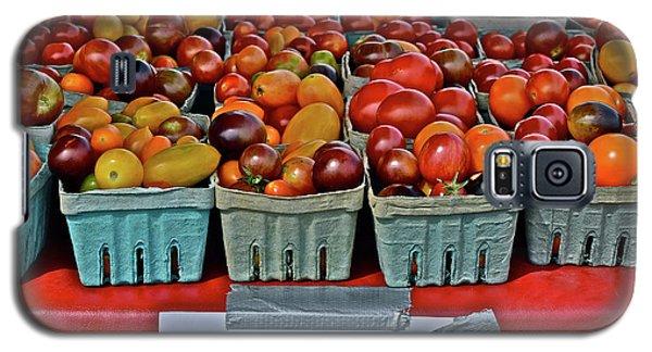 2017 Monona Farmers' Market August Heirloom Cherry Tomatoes Galaxy S5 Case