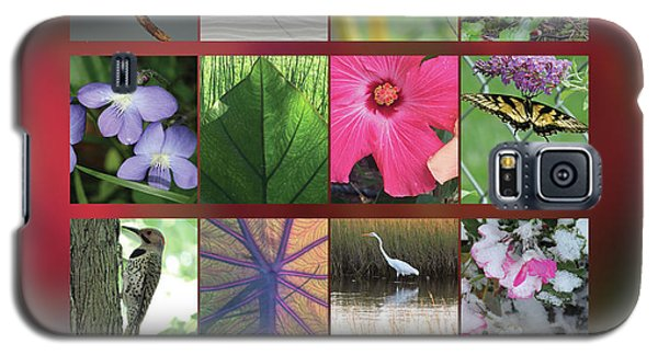 Galaxy S5 Case featuring the photograph 2017 Nature Calendar by Peg Toliver