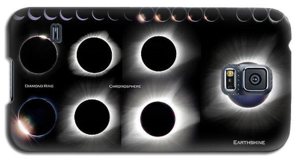 2017 Solar Eclipse Collage Galaxy S5 Case