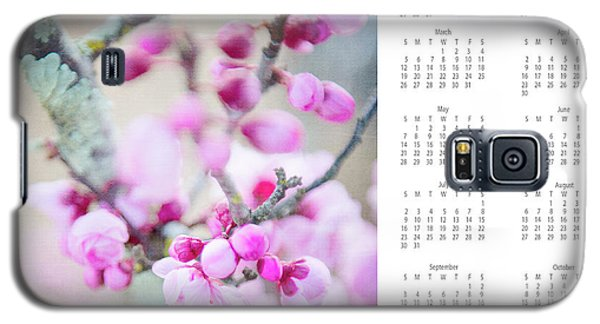 Galaxy S5 Case featuring the photograph 2017 Wall Calendar Cherry Blossoms by Ivy Ho