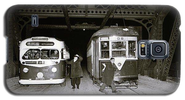 207th Street Crosstown Trolley Galaxy S5 Case