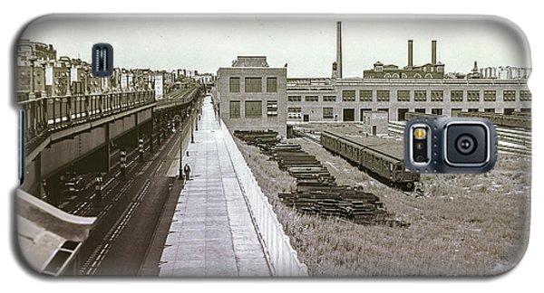207th Street Subway Yards Galaxy S5 Case