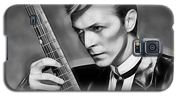 David Bowie Collection Galaxy S5 Case by Marvin Blaine