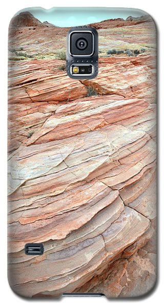 Galaxy S5 Case featuring the photograph Colorful Sandstone In Valley Of Fire by Ray Mathis