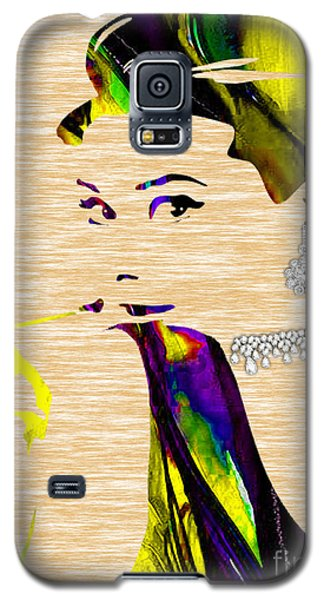 Audrey Hepburn Collection Galaxy S5 Case by Marvin Blaine