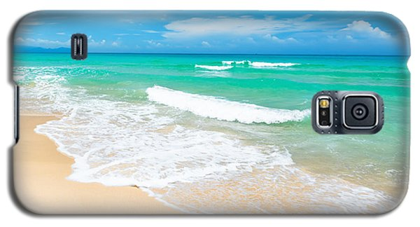 Beach Galaxy S5 Case by MotHaiBaPhoto Prints