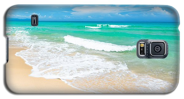 Beach Galaxy S5 Case by MotHaiBaPhoto Prints
