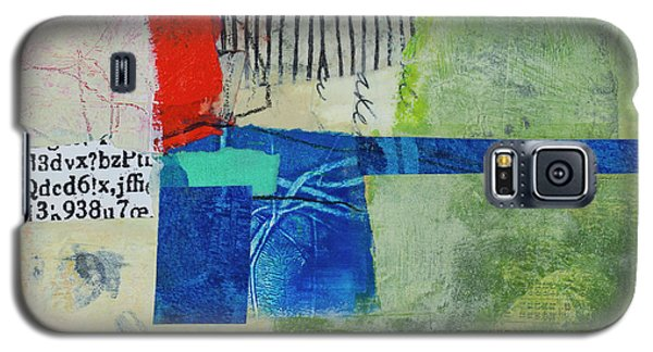 Galaxy S5 Case featuring the mixed media 23 by Elena Nosyreva