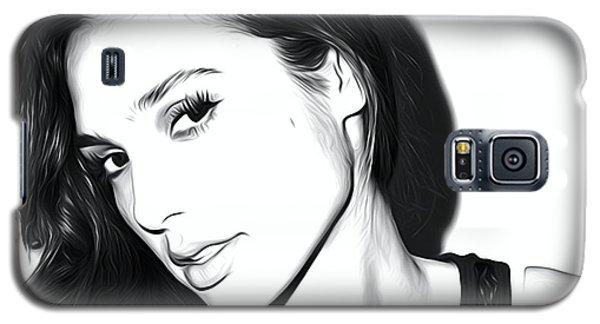 Ben Affleck Galaxy S5 Case - Gal Gadot Art by Elizabeth Simon