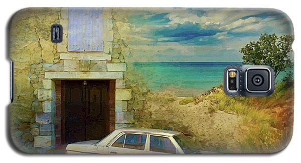 24 Hr Parking By The Beach Galaxy S5 Case