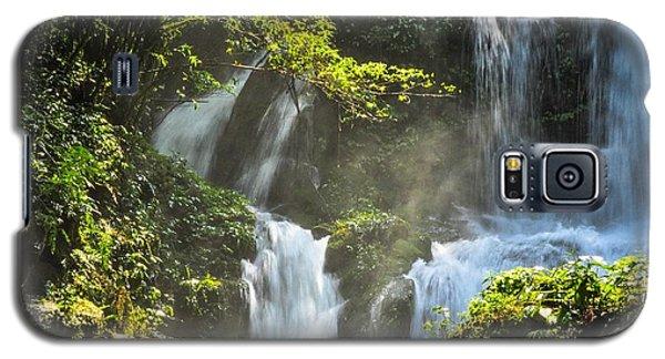 Waterfall Scenery Galaxy S5 Case