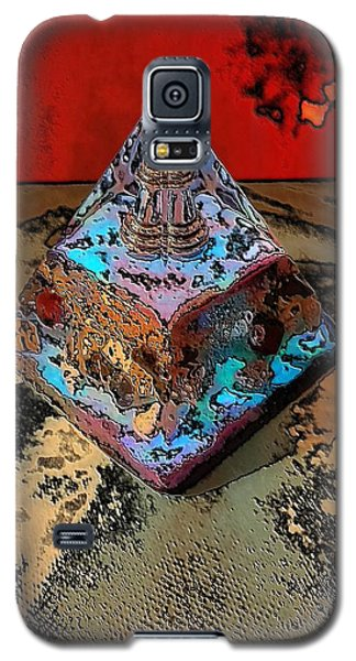 Abstract Orgone Galaxy S5 Case