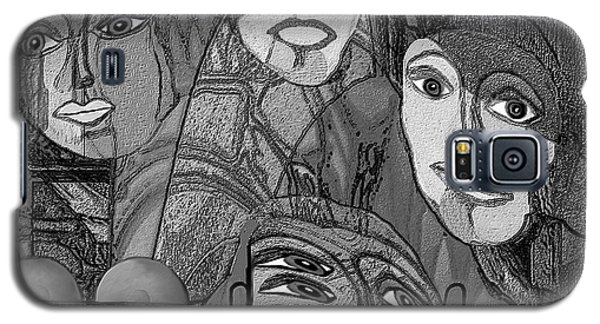 256 - Nice People Galaxy S5 Case by Irmgard Schoendorf Welch