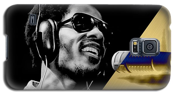 Stevie Wonder Collection Galaxy S5 Case by Marvin Blaine